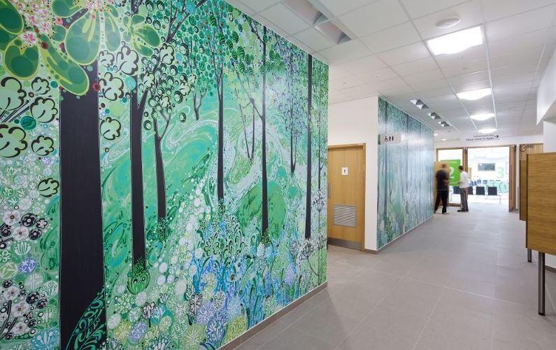 ROCKFON creates artistic sound control for new Morriston Hospital