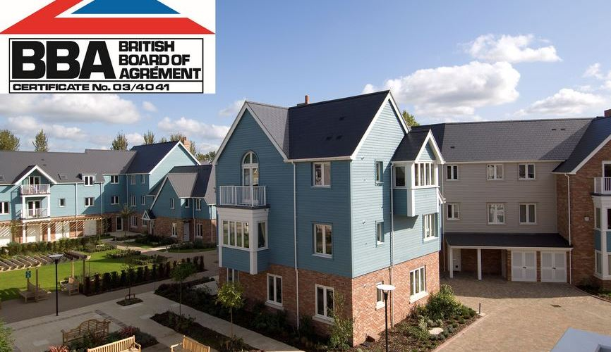 Cembrit provides architects with BBA certified slates