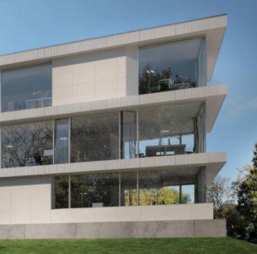 Schueco FWS 60 CV façade