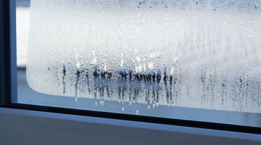Fight condensation on windows in winter with Guardian ClimaGuard Dry glass