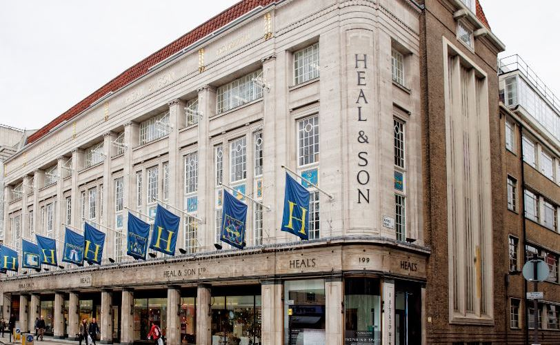 Iconic Heal's Building kitted out with Panasonic heating and cooling system