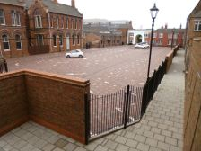 "Charity's rejuvenation project uses striking Brett Landscaping solution to draw footfall to Hull ""Old Town"" Centre"
