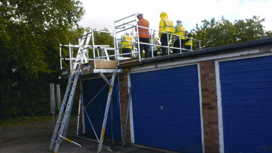 Easi-Dec provides safe access system for low-level roofs