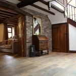 James Latham supplies flooring for rustic barn conversion