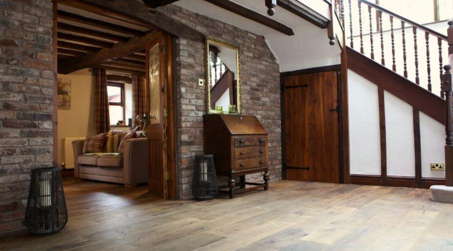 James Latham supplies flooring for rustic barn conversion