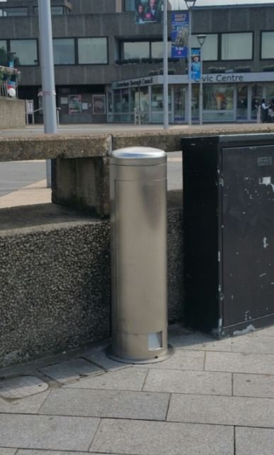 Power Bollards provide a safe, secure outdoor power supply for Gravesham Borough Council