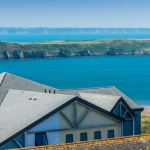 Using Cembrit Alpina natural roof slates is a breeze on the Devon coast