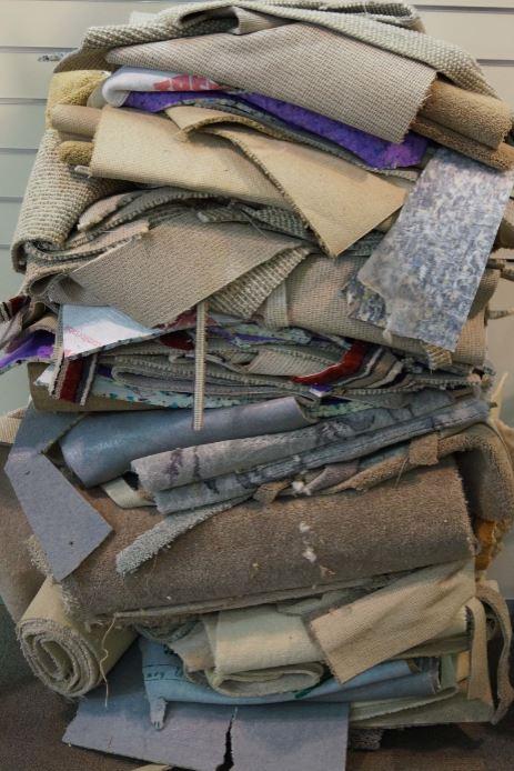 Landfill diversion of carpet waste rises to 35%