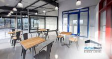 AluFoldDirect Aluminium Glazing Design Centre is a 'Lancashire Hot Spot' for Architects