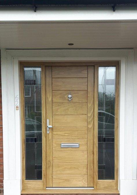 oak windows doors