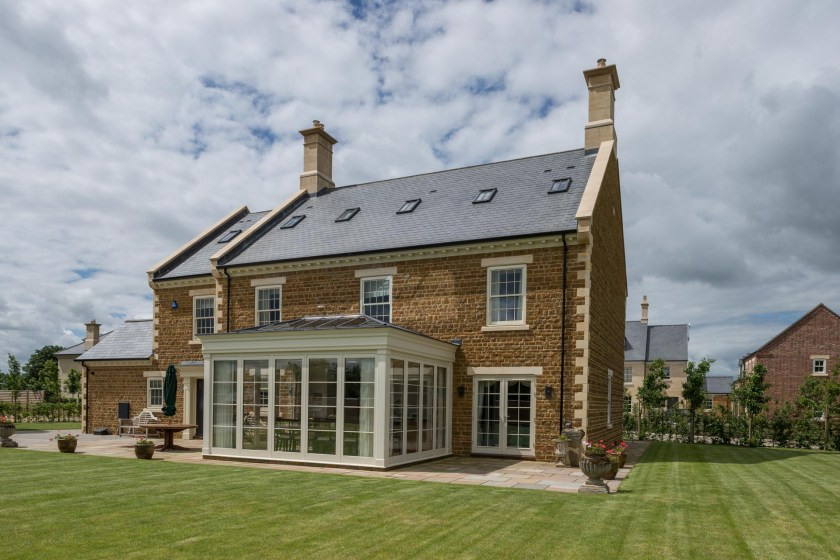 Cupa Pizarras roofing slate for a prestigious development located in a conservation area 1