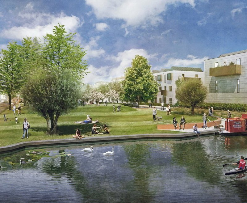 Green light for residential-led regeneration scheme at Icknield Port Loop, Birmingham