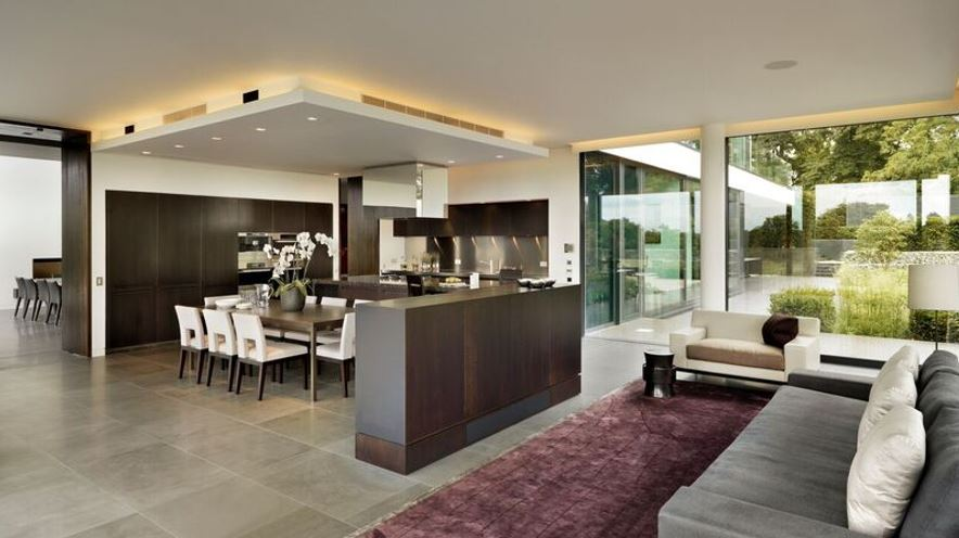 Modern architecture and bespoke interior design