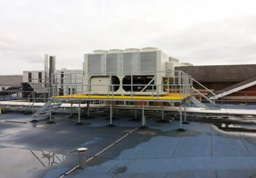Big Foot Systems Provides Support at Manchester Royal Infirmary