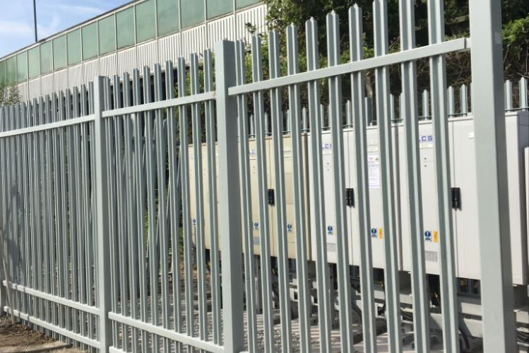 TouchSafe® palisade fencing