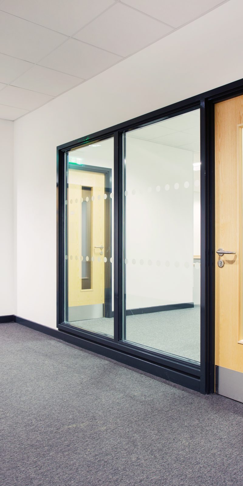 Ahmarra launch the 'Mercantile Range' – fire rated doorsets for commercial projects