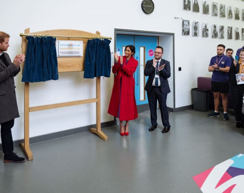 Boulting greet Duke and Duchess at Wirral Youth Zone