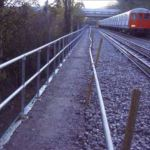 Kee Klamp barriers for rail infrastructure projects