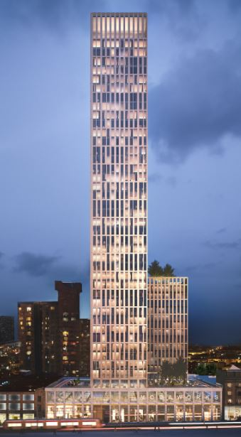 Moda breaks ground and unveils new name for Birmingham's tallest residential tower