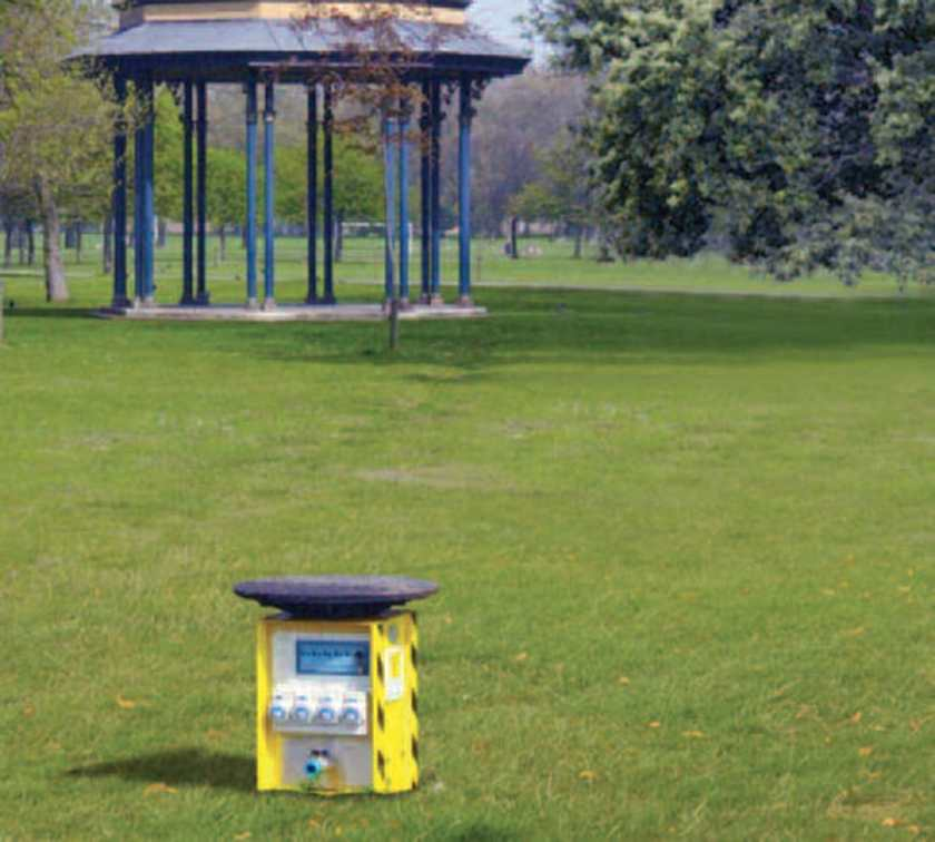 Innovative outdoor power solutions for parks