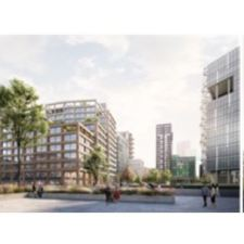 Ballymore submits planning application for contemporary, riverside offices; EG:HQ at Embassy Gardens