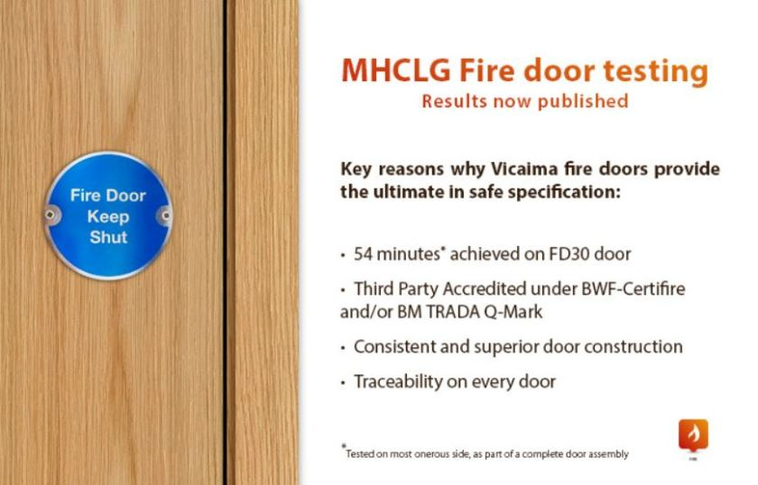 Vicaima Fire Doors