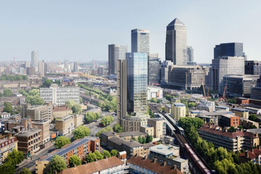 Rockwell Appoint John Sisk & Son to Build 30 Storey Canary Wharf Building 4