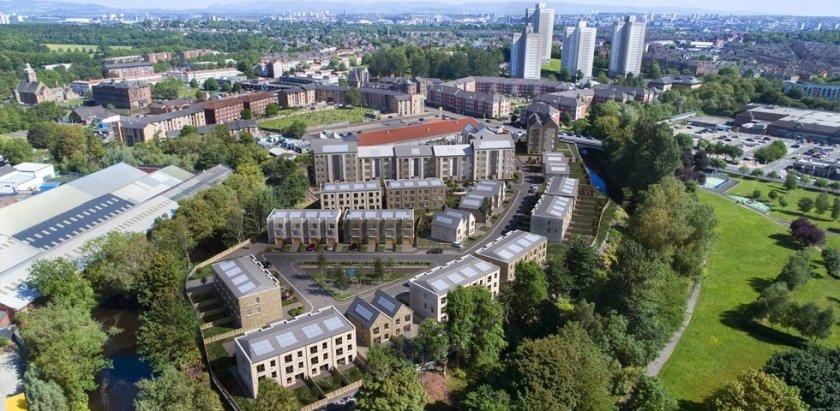 CCG Homes Glasgow Regeneration