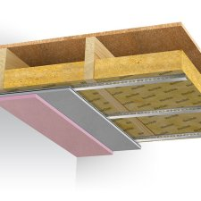 Maxi 60 Ceiling System delivers dependable fire rated soundproofing solution