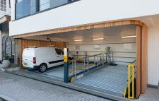 Elevating door aesthetics for car lift garages