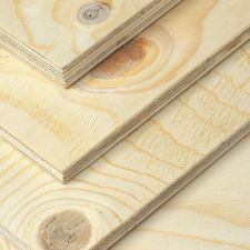 Artistic view on spruce plywood like you've never seen before