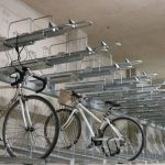 Space saving cycle stands installed at student accommodation - Leeds