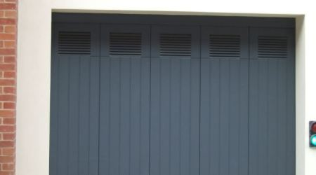 Rundum Meir doors with integrated vents offer fresh thinking for air flow in garages 1