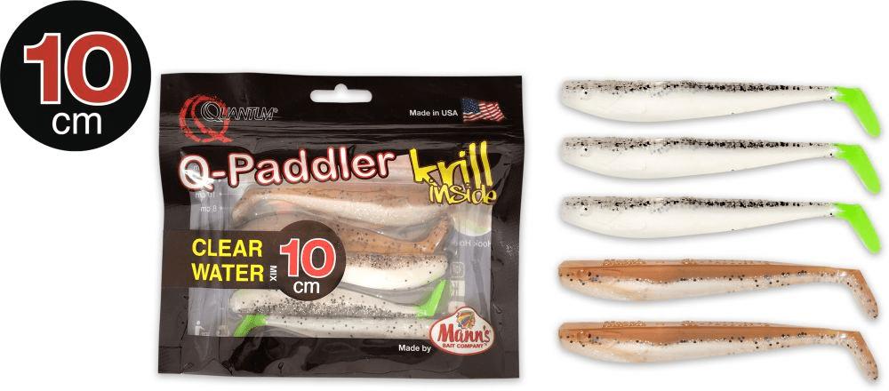 Manns Q Paddler 10cm Salt & Pepper + Sand Goby