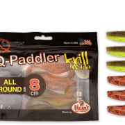Manns / Quantum Q-Paddler 8cm Pumpkinseed Chartreuse + Original Appleseed All Round Mix