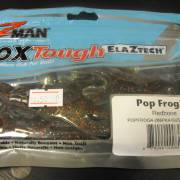 Z-Man Pop FrogZ 4'' Redbone 4 Pack