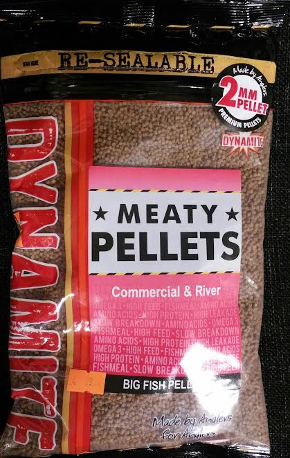 Dynamite Baits Meaty Pellets 2mm