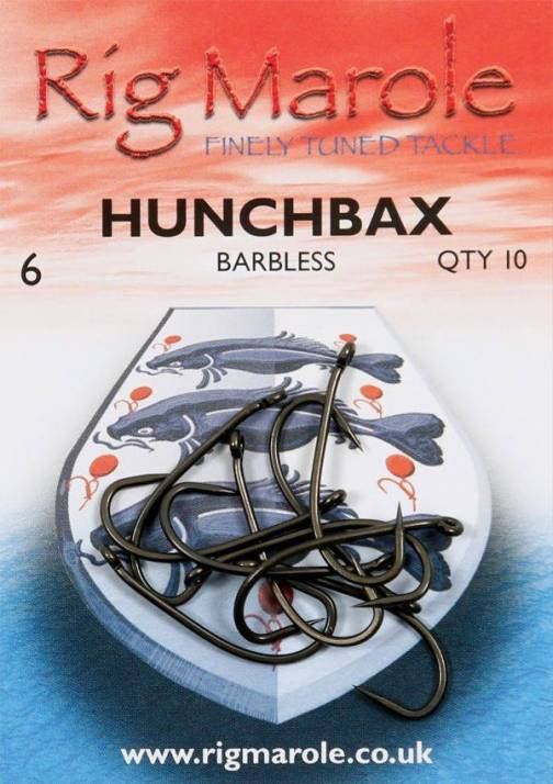 Rig Marole Hunchbax Hooks Size 10 Barbless
