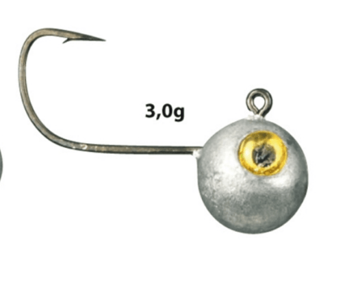 Spro Micro Jig Heads 3g Size 2 Pack of 5
