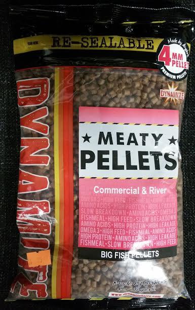 Dynamite Baits Meaty Pellets 4mm