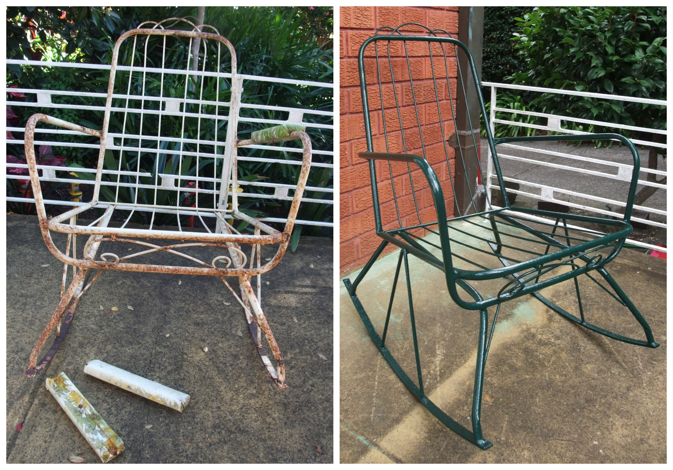Refurbished Chairs Refurbishing Vintage Patio Chairs
