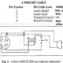 3 Wire Microphone Wiring Diagram Worcester Greenstar Ri Mic All Data For Astatic 575 M6 To Cobra Speckog Car