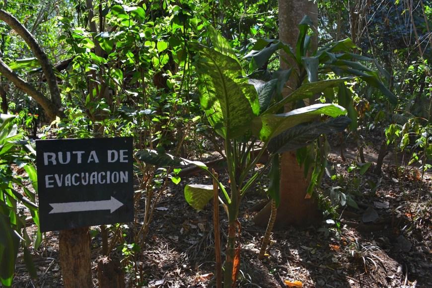 Nicaraguan Evacuation Route