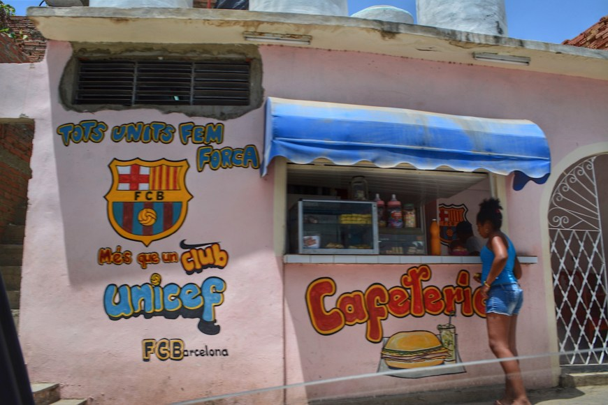Cuban Food Stand