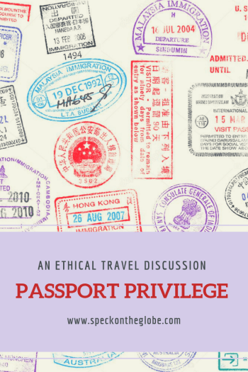 d1f24fa6ad Sustainable travel starts in education   planning. Passport privilege  exists between countries - learn more