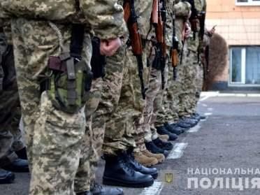 На схід! Загін поліції Рівненщини вирушив на фронт (ФОТО)