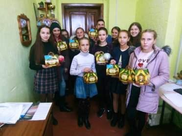 Школярі з Володимиреччини допомогли хворим одноліткам