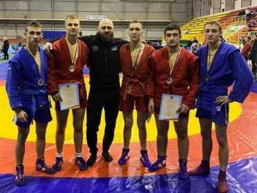 Рівненські самбісти завоювали 6 медалей на чемпіонаті України