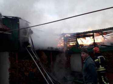 На Березнівщині вогнеборці рятували з пожежі свійських тварин