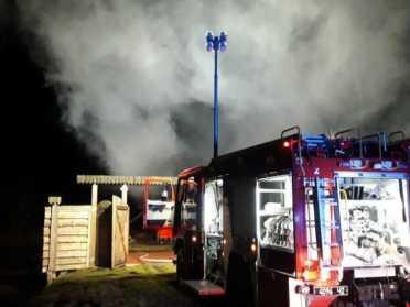 На Рівненщині бійці ДСНС загасили пожежу в лазні